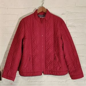 Talbots Quilted Puffer Jacket Size Large